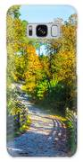 Runner's Path In Autumn Galaxy Case by Parker Cunningham