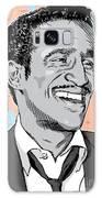Sammy Davis Jr Pop Art Galaxy Case by Jim Zahniser