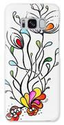Sea Flowers Galaxy S8 Case