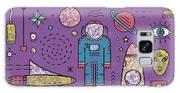 Space Planets Stars Cosmonaut Design Galaxy S8 Case