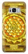 Sri Yantra Gold Stone Galaxy S8 Case