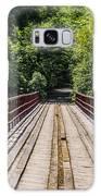 Standing On A Bridge Galaxy S8 Case