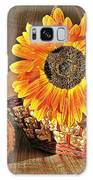Stillife With  The Sunflower And Pumpkins Galaxy S8 Case