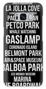 Streets Of San Diego 2 Galaxy Case