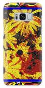 Sunflowers In The Park Galaxy S8 Case