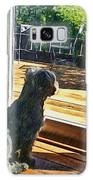 The Fluffy Watcher Galaxy S8 Case
