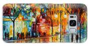 The Tears Of The Fall - Palette Knife Oil Painting On Canvas By Leonid Afremov Galaxy S8 Case
