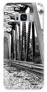 Train Trestle In B/w Galaxy S8 Case