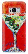 Vodka Martini Shaken Not Stirred - Martini Lovers - Modern Art Galaxy Case