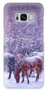 Wild Horse Christams Galaxy S8 Case