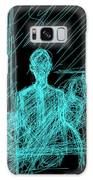 Young Poet In Black Galaxy S8 Case