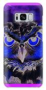 2011 Dreamy Horned Owl Negative Galaxy S8 Case