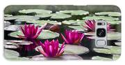 Red Water Lillies Galaxy S8 Case
