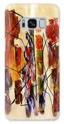 Figurative Abstract African Couple Reproduction On Gallery Wrapped Canvas  Galaxy S8 Case
