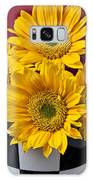 Bunch Of Sunflowers Galaxy Case by Garry Gay