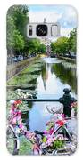 Canal And Decorated Bike In The Hague Galaxy S8 Case