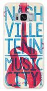 Nashville Poster - Tennessee Galaxy Case by Jim Zahniser