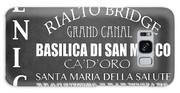 Venice Famous Landmarks Galaxy S8 Case