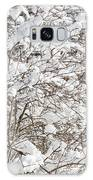 Winter Scene - Abstract Galaxy Case by Shankar Adiseshan