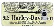 1915 Harley Davidson Advertisement Galaxy S8 Case
