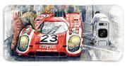 1970 Le Mans 24 Porsche917k Attwood Herrmann Winner  Galaxy S8 Case
