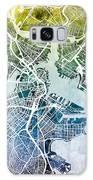 Boston Massachusetts Street Map Galaxy S8 Case