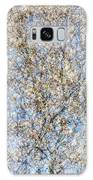 Spring Season - Inspired By Jackson Pollock Galaxy Case by Shankar Adiseshan