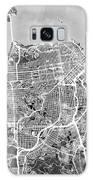 San Francisco City Street Map Galaxy S8 Case