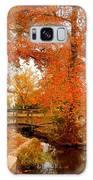 A Morning In Autumn - Lake Carasaljo Galaxy S8 Case