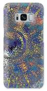 Abstract Blue Dots Galaxy S8 Case