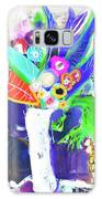 Abstract Flowers Galaxy S8 Case