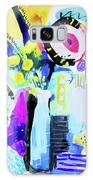Abstract Wild Flowers Galaxy S8 Case
