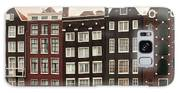 Amsterdam Architectre At Twilight Galaxy S8 Case