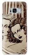 Arielle And Gabrielle In Sepia Tone Galaxy S8 Case