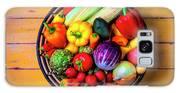 Basketful Of Fresh Vegetables Galaxy S8 Case