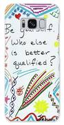 Be Yourself Galaxy S8 Case