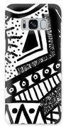 Black And White 15 Galaxy S8 Case