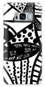 Black And White 16 Galaxy S8 Case