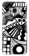 Black And White 18 Galaxy S8 Case