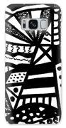 Black And White 19 Galaxy S8 Case
