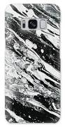 Black White Modern Art Galaxy S8 Case