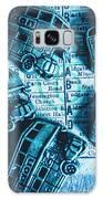 Blue Britain Bus Bill Galaxy S8 Case