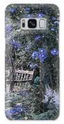 Blue Muted Garden Respite Galaxy S8 Case