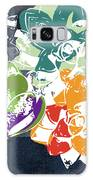 Bold Succulents 1- Art By Linda Woods Galaxy Case