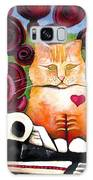 Boris And Me Galaxy Case by Delight Worthyn