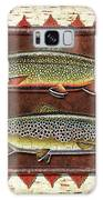 Brook And Brown Trout Lodge Galaxy Case by JQ Licensing