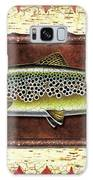 Brown Trout Lodge Galaxy Case by JQ Licensing