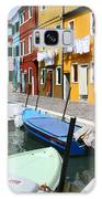 Burano Corner With Laundry Galaxy S8 Case