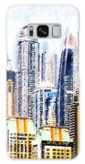 City Abstract Galaxy S8 Case