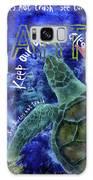Clean Oceans Sea Turtle Art Galaxy S8 Case